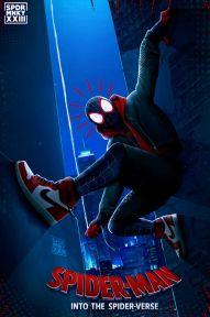 spider man into the spider-verse - 2018